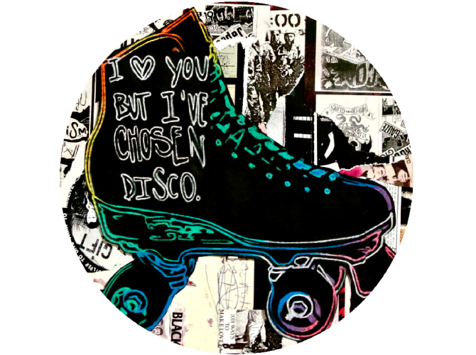 I Love you but I've Chosen Disco the artwork factory