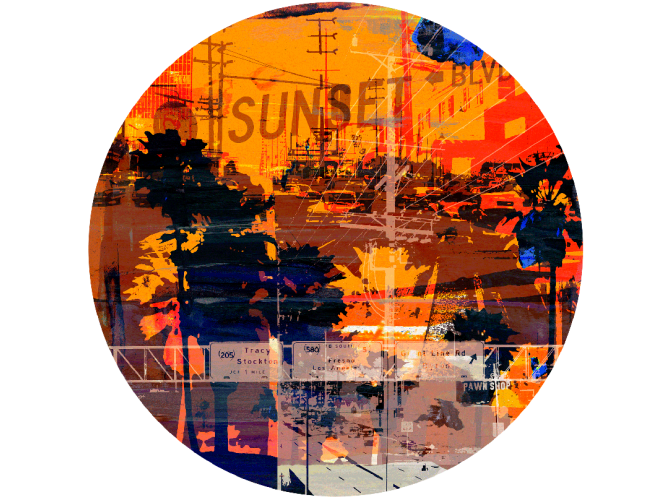 Sunset Blvd 1 the artwork factory