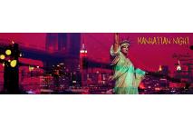 Manhattan Night, Crimson sky