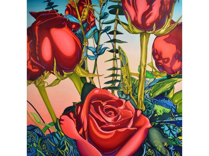 Roses the artwork factory