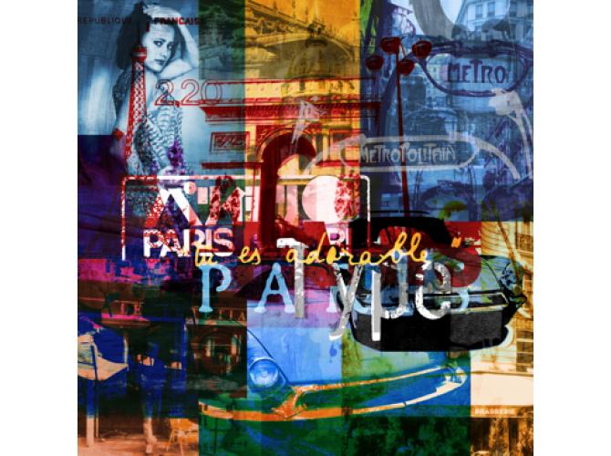 Paris Vibes 2 the artwork factory
