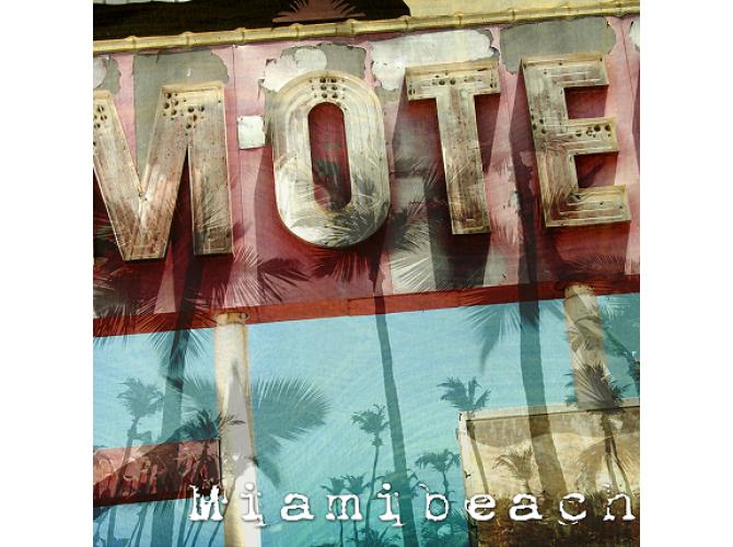 Classic Miami Beach Motel the artwork factory