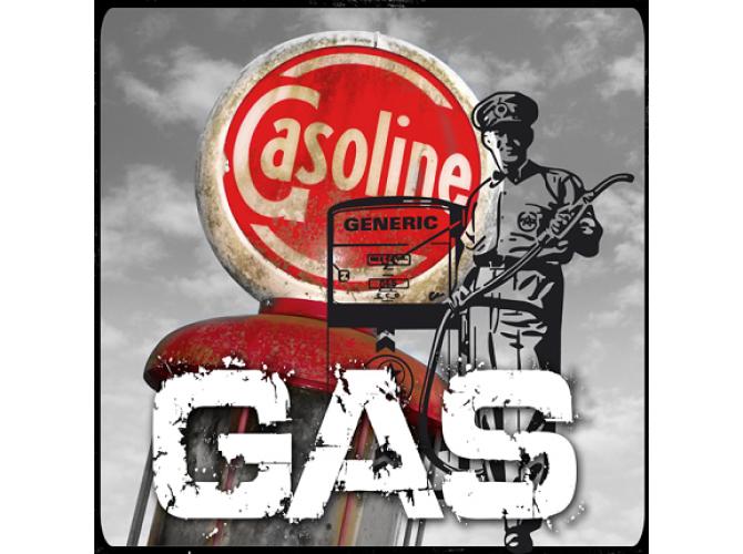 Vintage Gas 1 the artwork factory