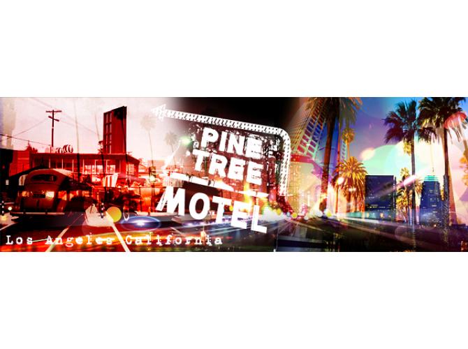 Pine Tree Motel L.A.  the artwork factory