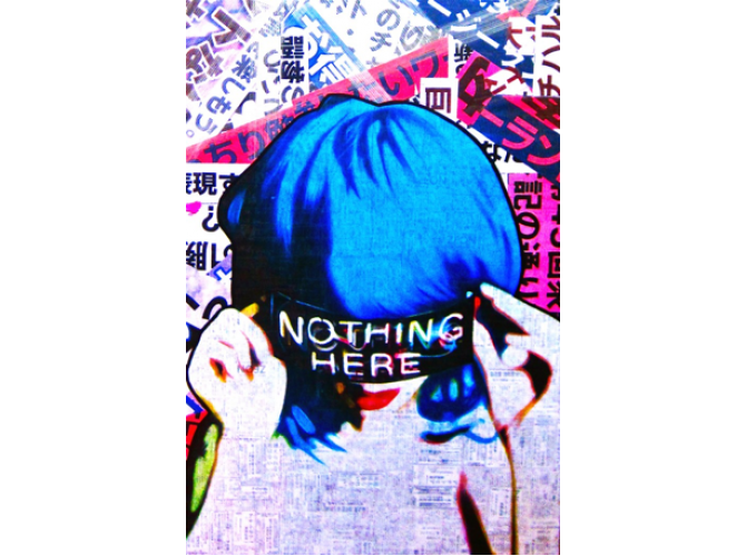 Nothing Here the artwork factory