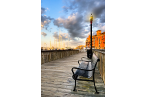 Relax and Watch the Sunset in Boston
