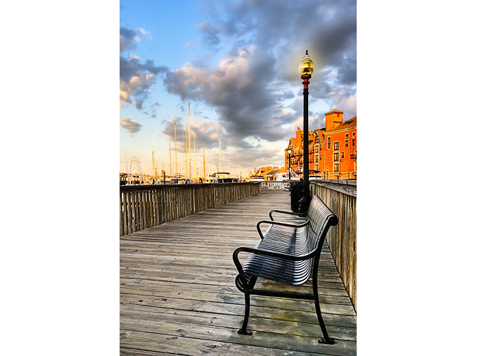 Relax and Watch the Sunset in Boston the artwork factory