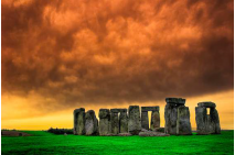Stonehenge Standing Proud on The Salisbury Plains