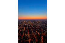 The Air Up Here - Chicago Aerial View