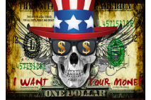 Money, Skull edition