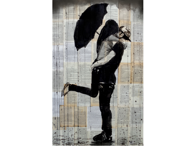 Rainy Day Lovers the artwork factory
