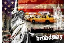 Symbol of Freedom, Broadway edition