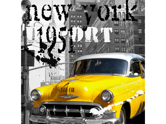 1951 New York Taxi Report  the artwork factory