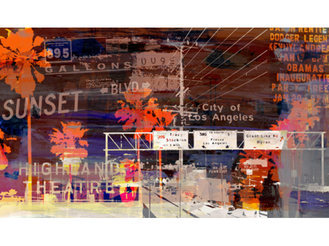 All Roads leads to LA the artwork factory