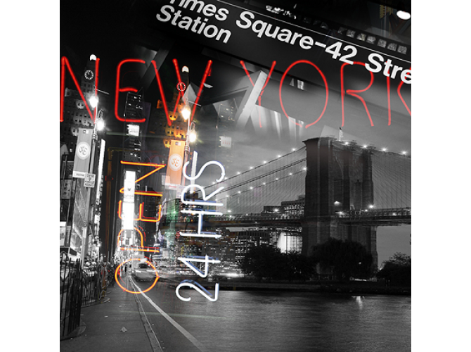 NYC Never Sleeps the artwork factory