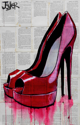 loui jover quotpeek behind the canvasquot