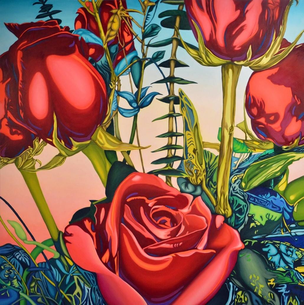 The Artwork Factory Roses Anne Gudrun